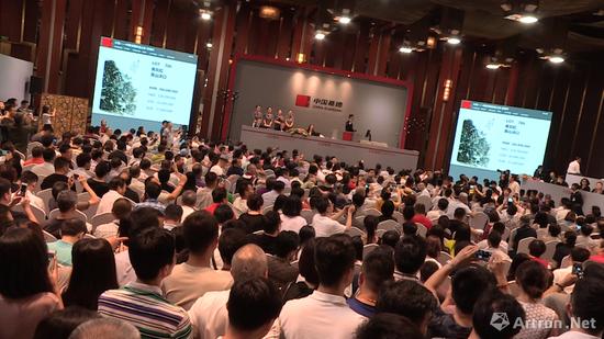中国嘉德2017年春拍大观之夜现场