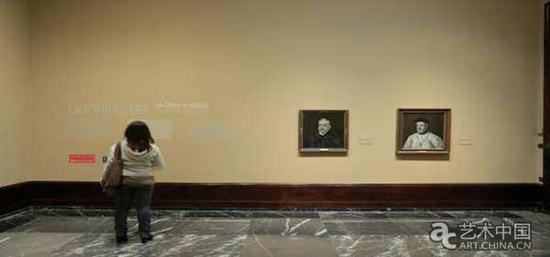 作品:《安东尼奥·杜·科瓦鲁维亚斯的画像》与《迭戈·杜·科瓦鲁维亚斯》展于毕尔巴鄂美术馆