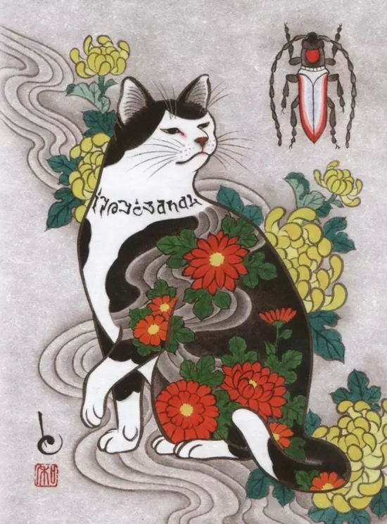 当一个纹身师和一个画家碰上猫奴 他们怎么办