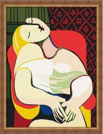毕加索的名画《梦》卖出了1.55亿美金的高价(调整后价格:1.58亿美元)