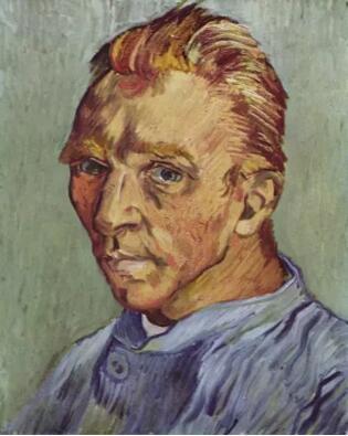 文森特 梵高《没胡须的自画像》40x31cm,1889