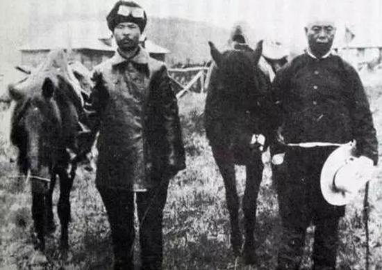乔装打扮的日本间谍