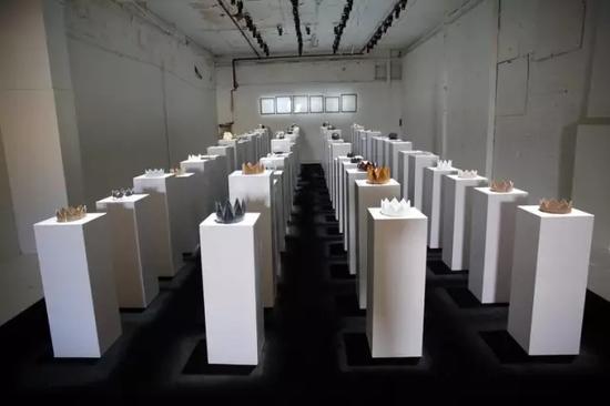 ▲展厅。(图片来源:第14工厂Twitter)