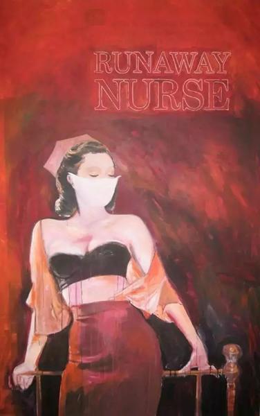 前泽友作藏品理查德·普林斯《Runaway Nurse》