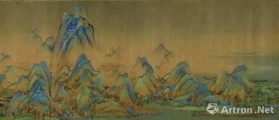 宋代 王希孟《千里江山图》