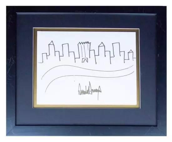 特朗普的简笔画