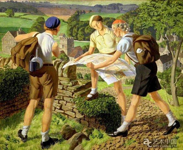詹姆斯·沃克塔克 《徒步游览 》(1936)