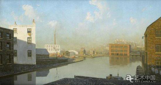阿尔杰农·牛顿 《运河盆地 》(1932)
