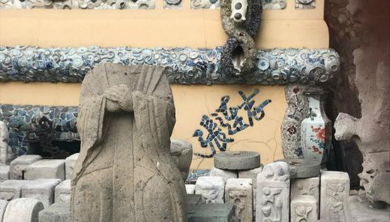 """""""瓷房子""""一角"""