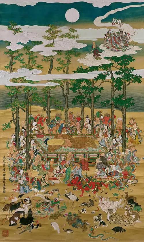 《涅��图》,江�跏贝�正�匀�年(1713年),英一蝶