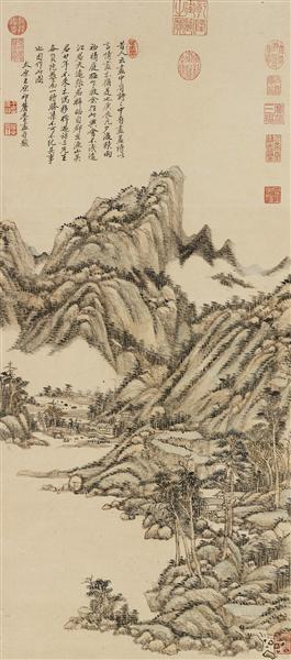 崇尚摹古的清前期绘画