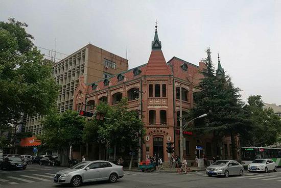胶澳德意志帝国邮局旧址,现为青岛邮电博物馆。摄影:牛其昌