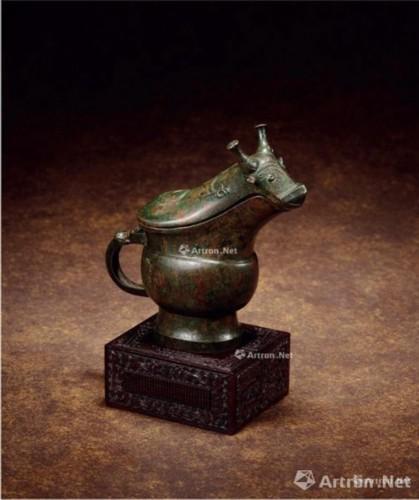 商晚期青铜龙纹觥 586.5万元成交