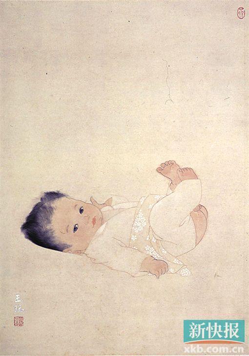 王玉珏作品《冉冉》。
