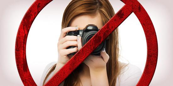 """五个""""禁止拍照""""政策出台的原因"""