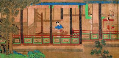 深闺亦有竹林期:绘画中的女性园林生活