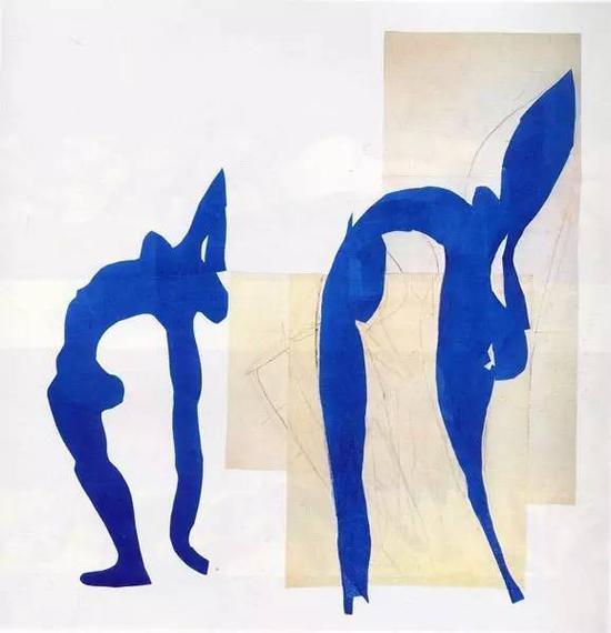 马蒂斯《蓝色的裸女》