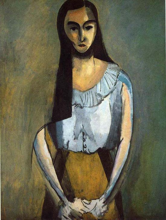 马蒂斯,《意大利女人》,1916年