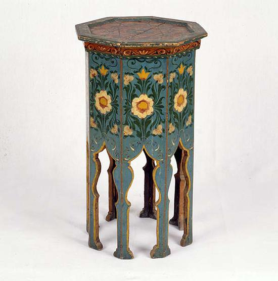 小画台,来自阿尔及利亚的收藏,20世纪初