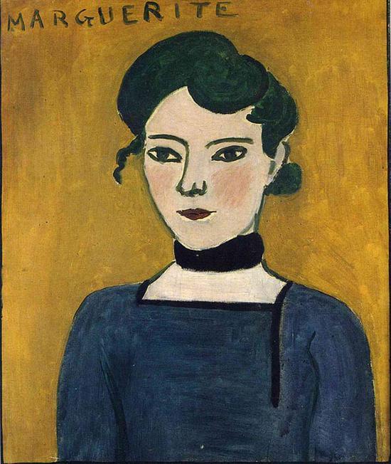 马蒂斯,《玛格丽特》,1906-07年