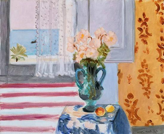 马蒂斯,《花瓶》,1924年