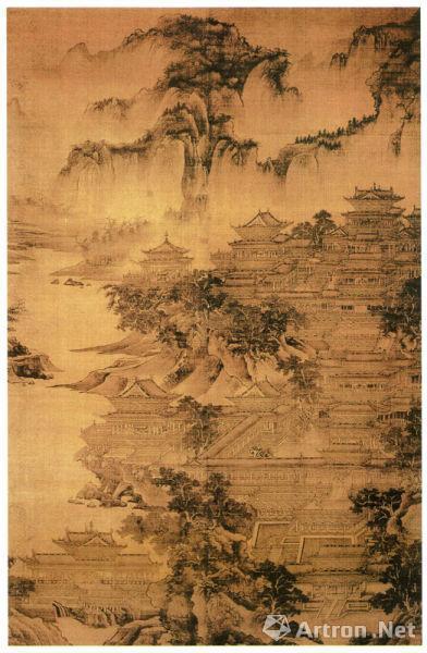 五代宋初画家郭忠恕《明皇避暑宫图》不止一件