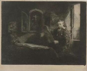 Rembrandt,《Abraham Francen医生肖像》,1655 –1659年中,阿姆斯特安国家博物院