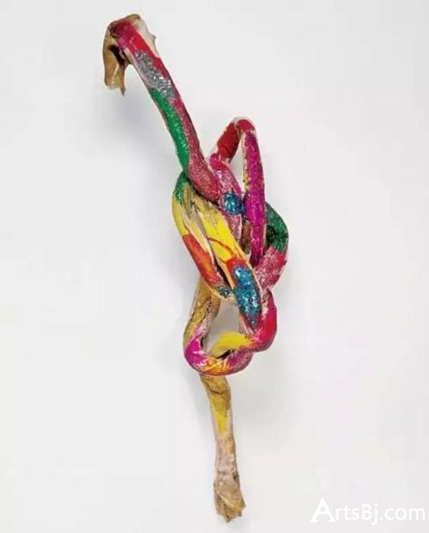 格沃尔夫妇藏品:琳达·本格里斯《熠熠生辉的绳结》