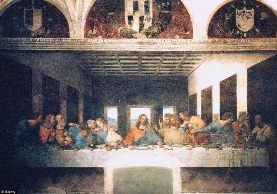 达芬奇《最后的晚餐》