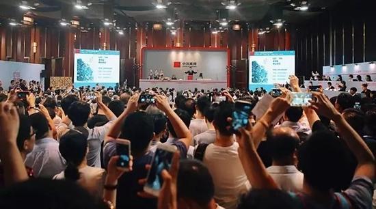 中国嘉德2017春拍大观夜场总成交16.66亿 创亚洲拍卖历史