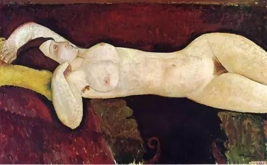 莫迪里阿尼其它《裸女》
