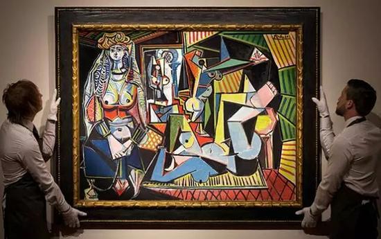 最高拍卖价艺术品毕加索《阿尔及尔女人——版本O》 1.79365亿美元