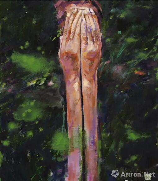 顾福生,局促,1968,油彩/画布,81x61cm