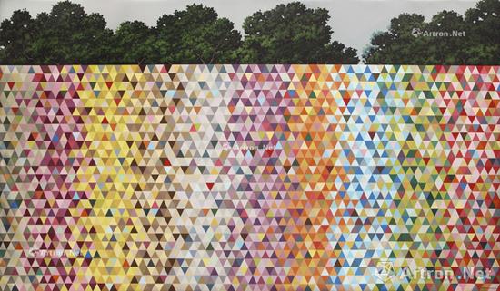 鲁迪·曼度凡尼作品是香港苏富比夜场的常客《地平线的颜色8号》 以122.5万元成交