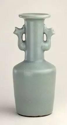 宋 龙泉窑青釉凤耳瓶