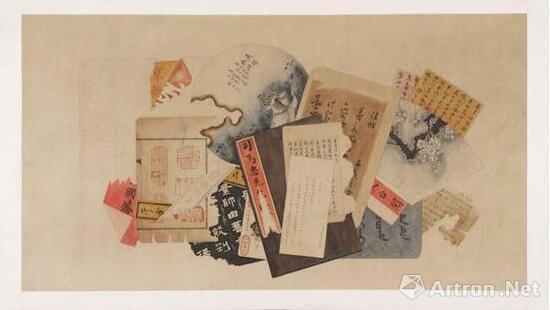未知艺术家,未命名,1900,纸本横幅,现藏于波士顿美术馆。图片:波士顿美术馆