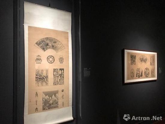 """""""抱残守缺:中国八破画""""展览现场,波士顿美术馆。图片:波士顿美术馆"""