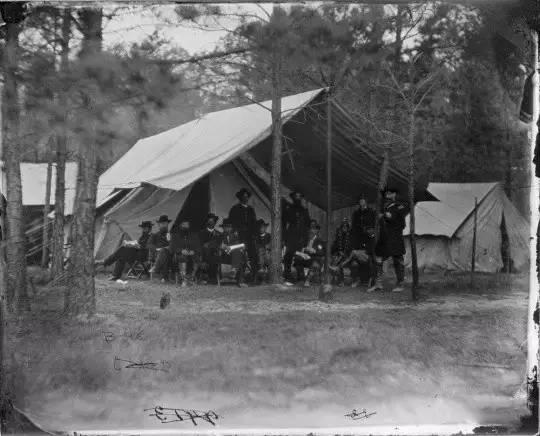 《美国内战》,马修·布雷迪,1861-1865年
