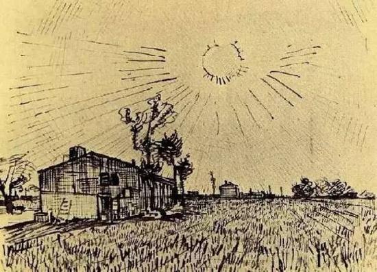 田地和农舍