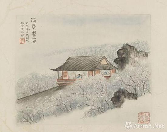 ▲吴湖帆《梅景书屋》己巳(1929年)
