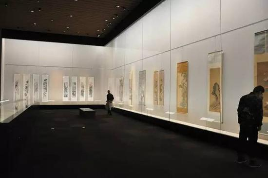 东京国立博物馆中国画展厅