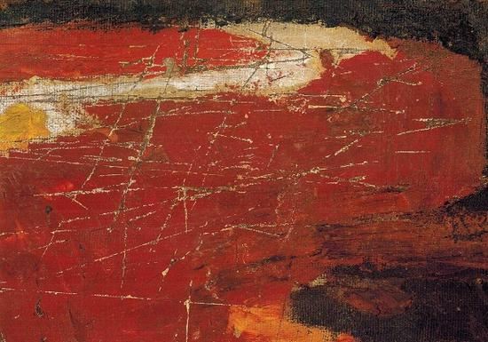 《梦河》油画 木板 33×45cm