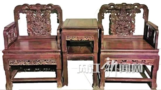 冯刚收藏的清代太师椅
