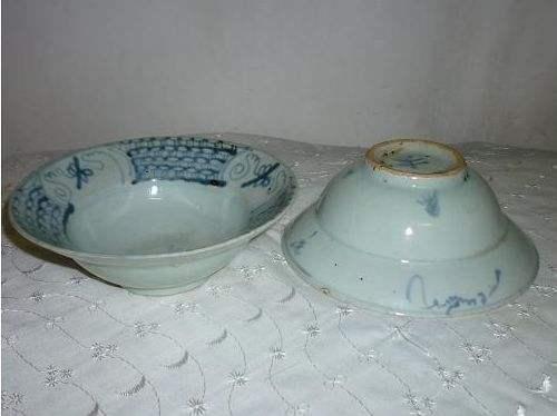 清中期民窑瓷器