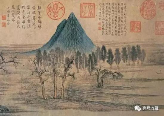 双峰突起尖峭的是华不注山