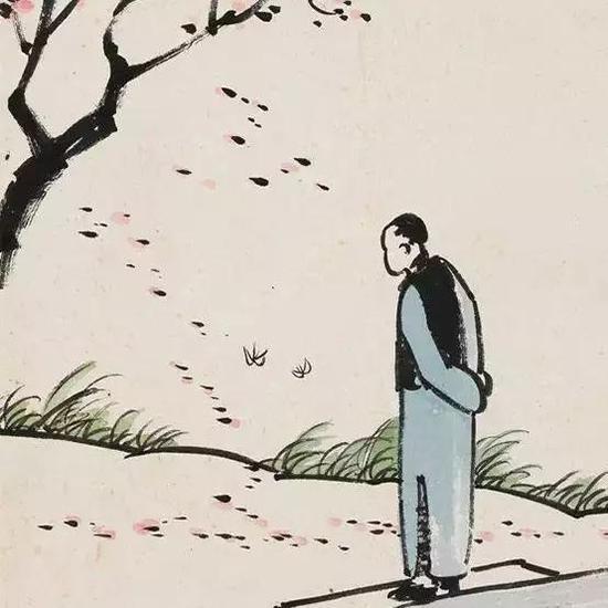 丰子恺画画不要脸 给民国报纸的标题党跪了