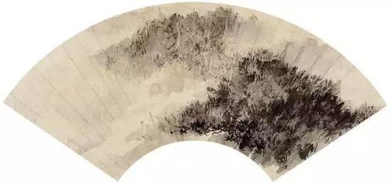 登山图,18.6×51.3cm
