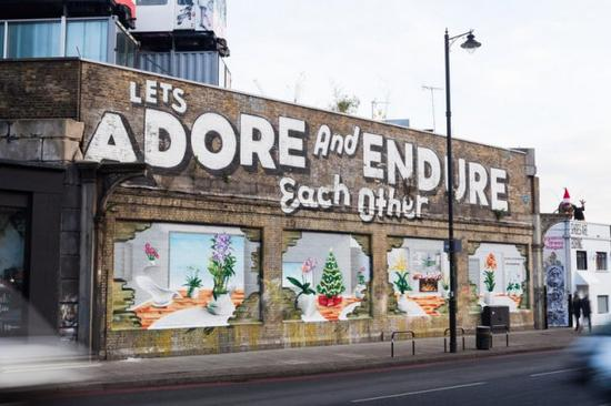 英国伦敦东区 肖迪奇街景