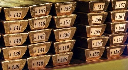 资料图:德国有3378吨黄金储备。