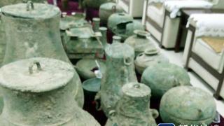 这是警方缴获的文物照片。新华社记者吴书光摄